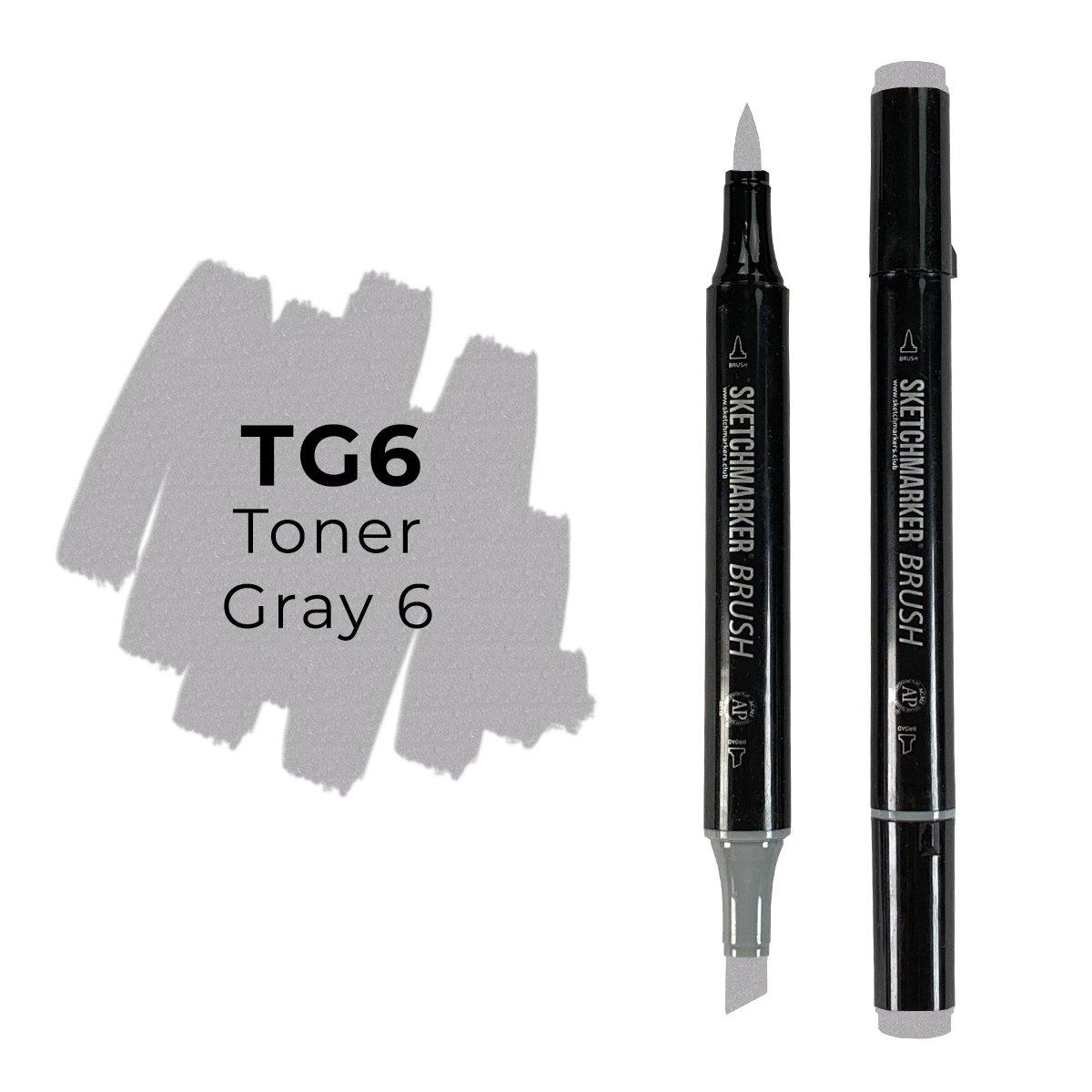 SKETCHMARKER BRUSH PRO Color: Toner Gray 6