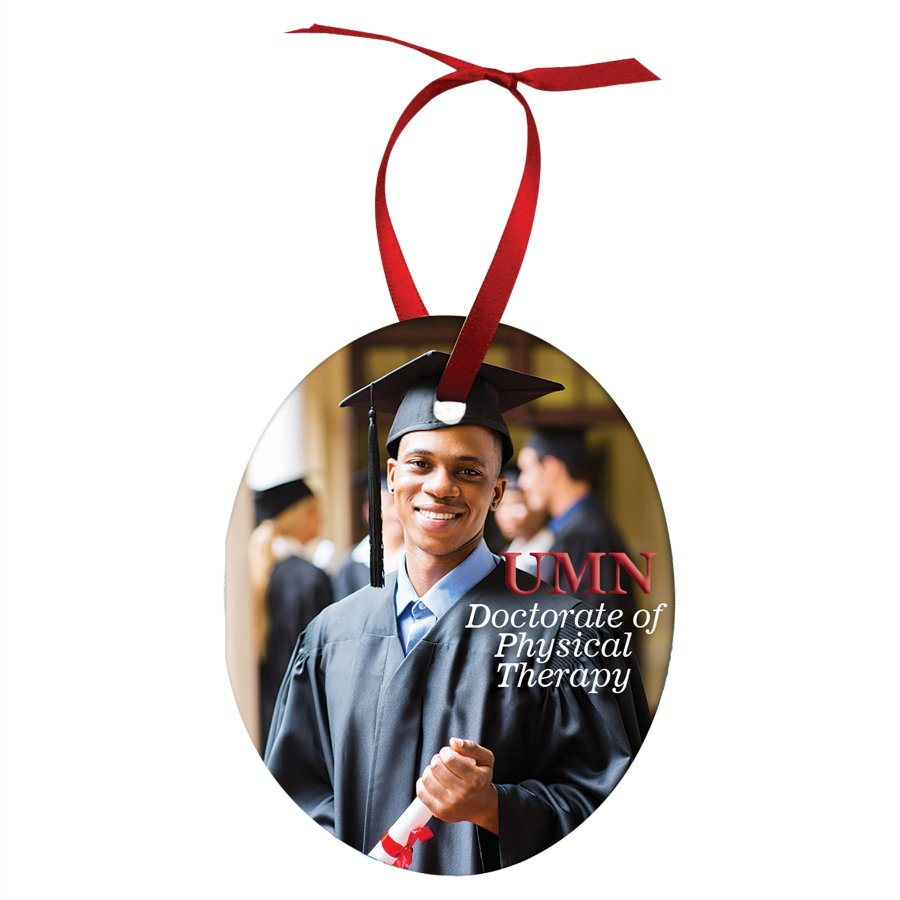 Personalized Oval Ornament 2.35x3