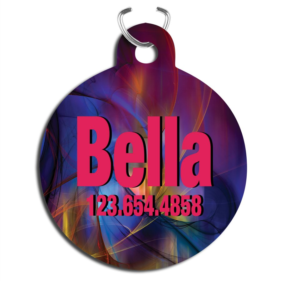 Personalized Pet Tags, Zipper Pulls, Charms