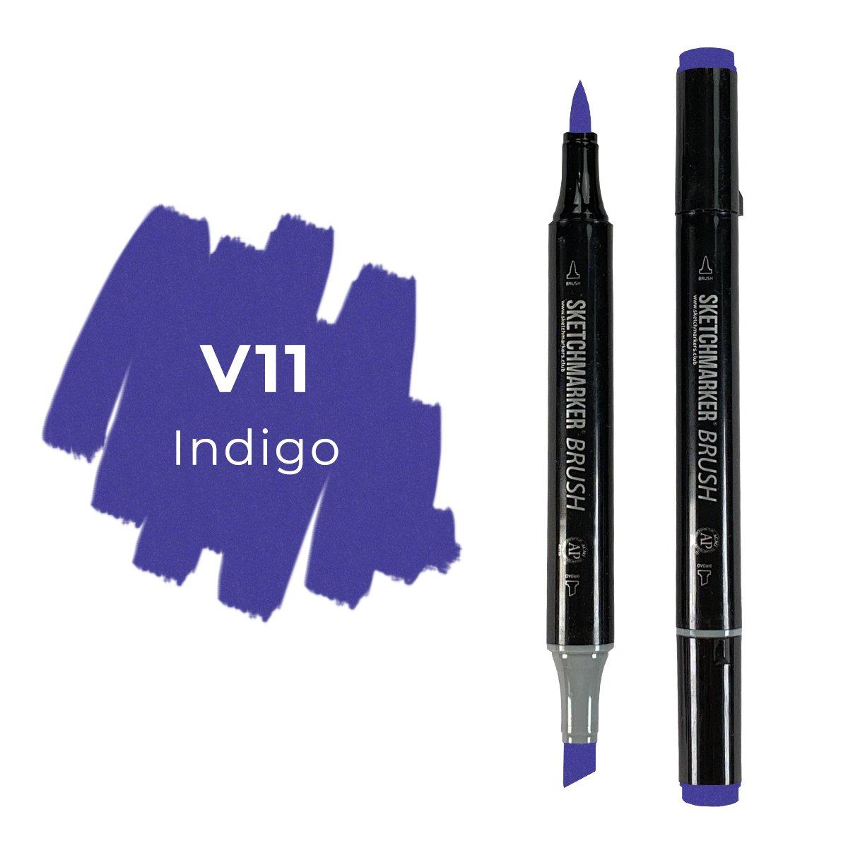 SKETCHMARKER BRUSH PRO Color: Indigo