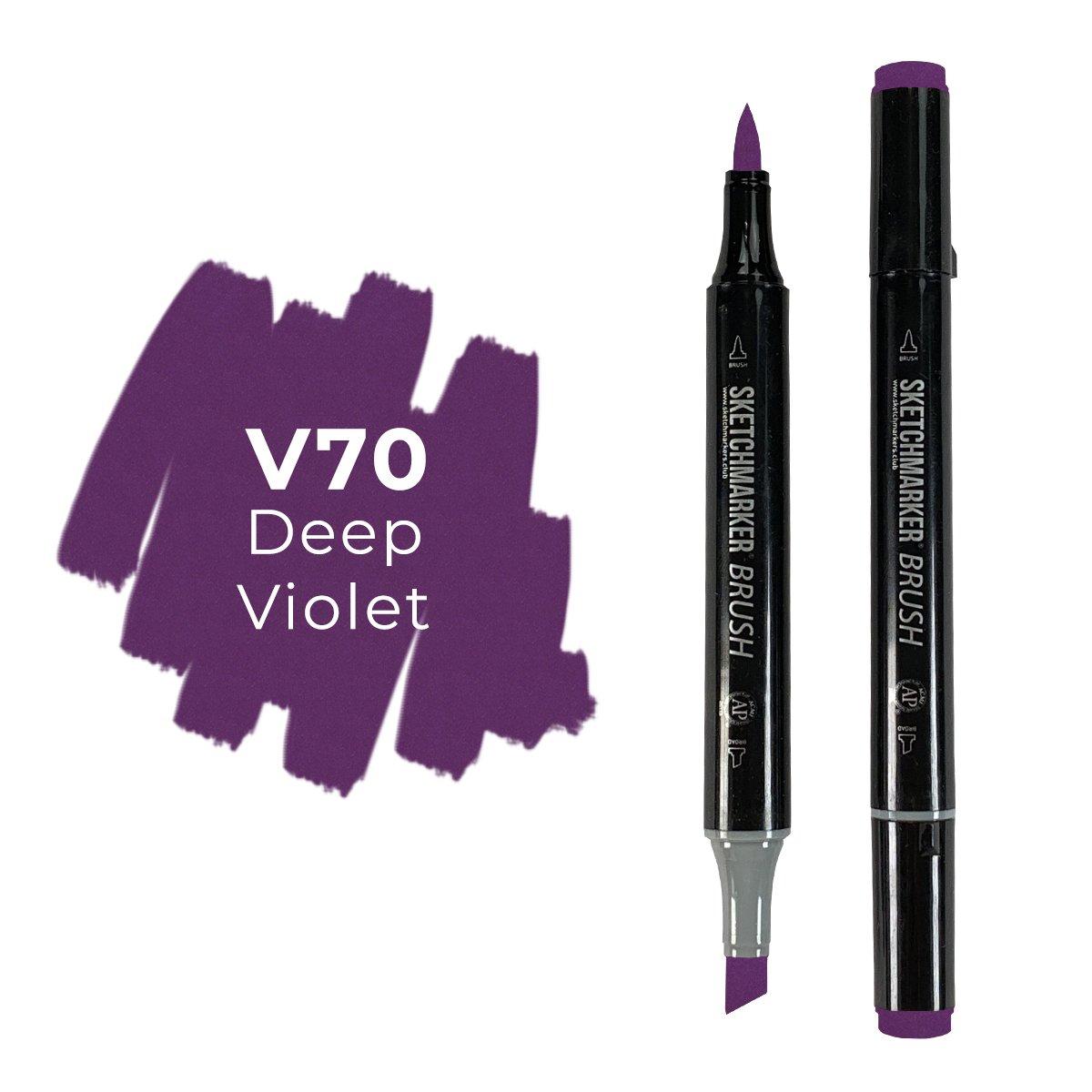SKETCHMARKER BRUSH PRO Color: Deep Violet