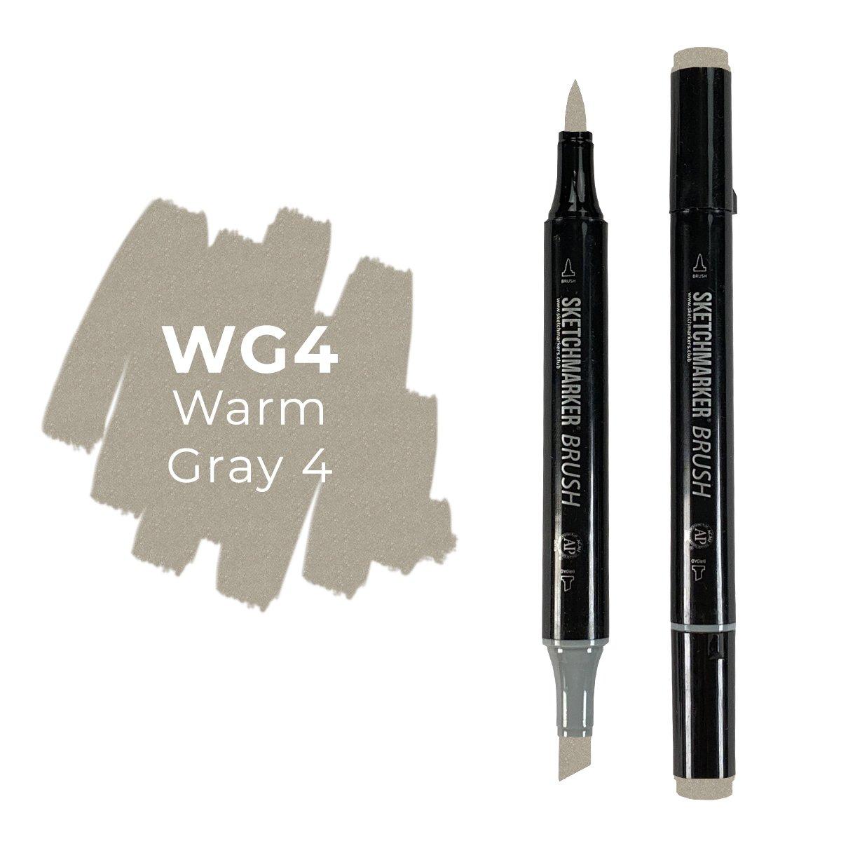 SKETCHMARKER BRUSH PRO Color: Warm Gray 4