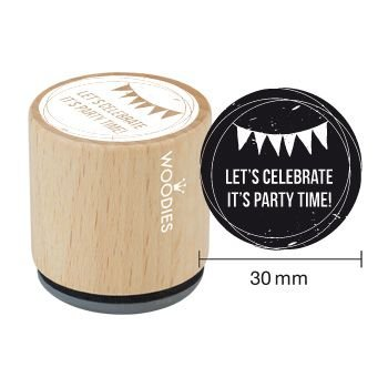 Woodies Invitation Stamp