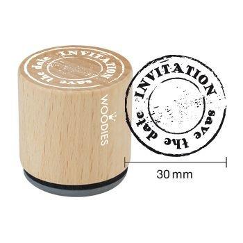 Woodies Invitation Stamp