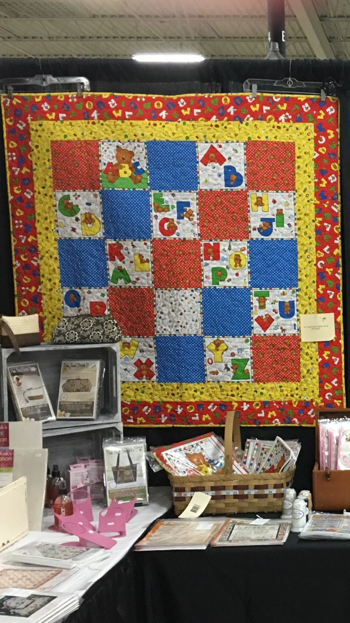 Alpha Bear Quilt Kit