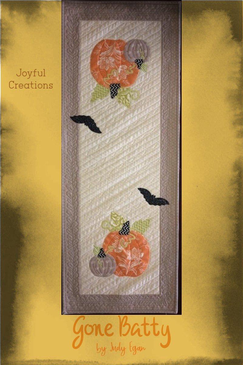 *Gone Batty Table Runner Kit By Joyful Creations