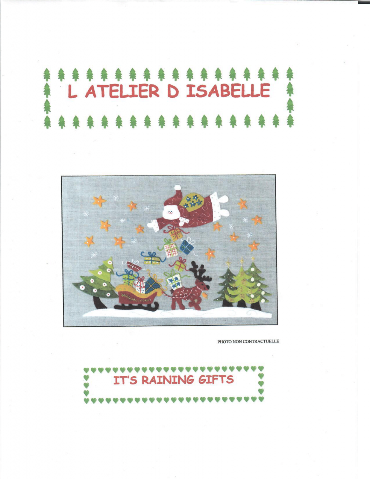 It's Raining Gifts by L Atelier D Isabelle