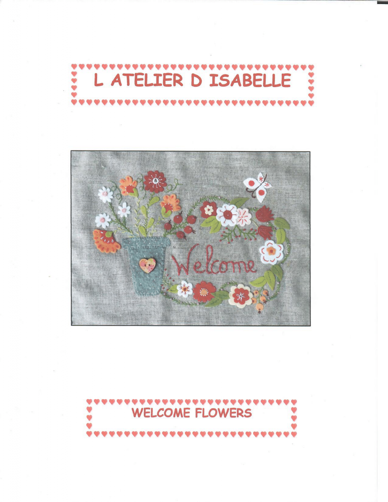 Welcome Flowers Kit by L Atelier D Isabelle