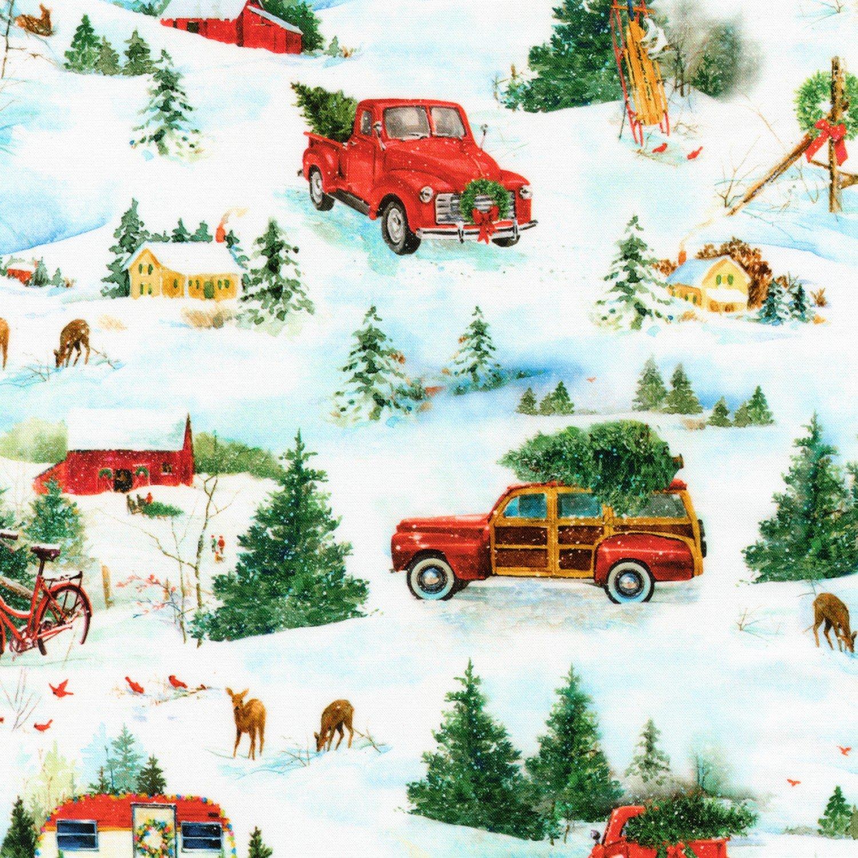Hello Winter AIYD18566223 by Robert Kaufman Fabrics