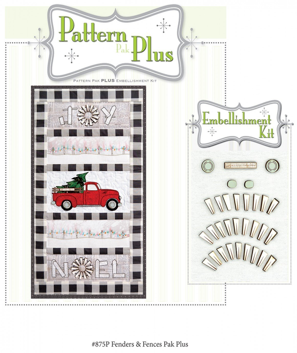 Fenders & Fence Posts Pattern Pak Plus By Happy Hollow Designs