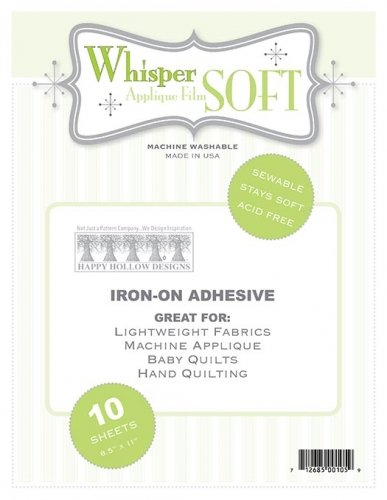 Whisper Soft Applique Film from Happy Hollow Designs