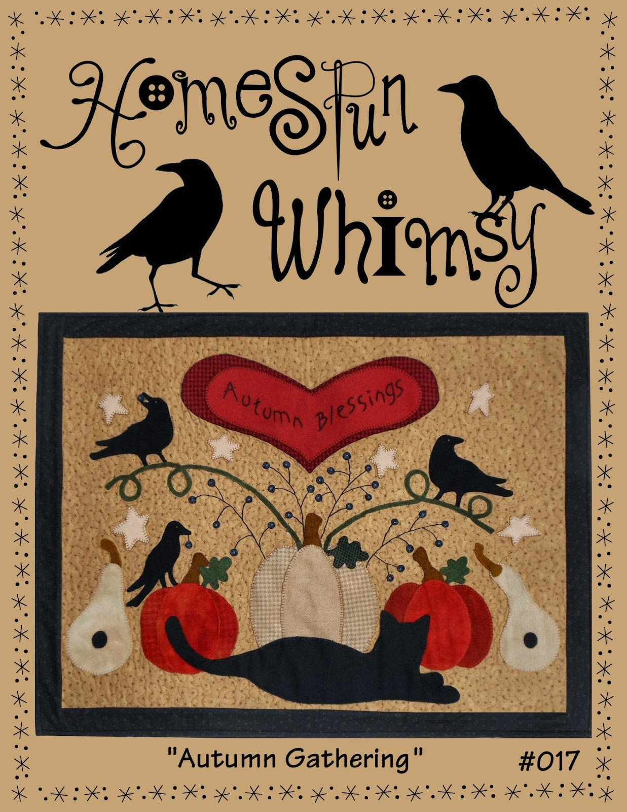 Autumn Gathering Quilt Pattern By Lori Of Homespun Whimsy