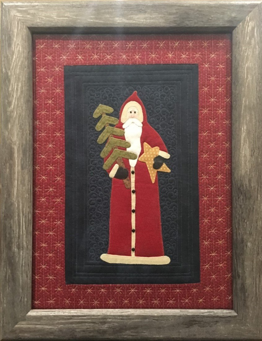 Homespun Whimsy Folksy Santa Kit