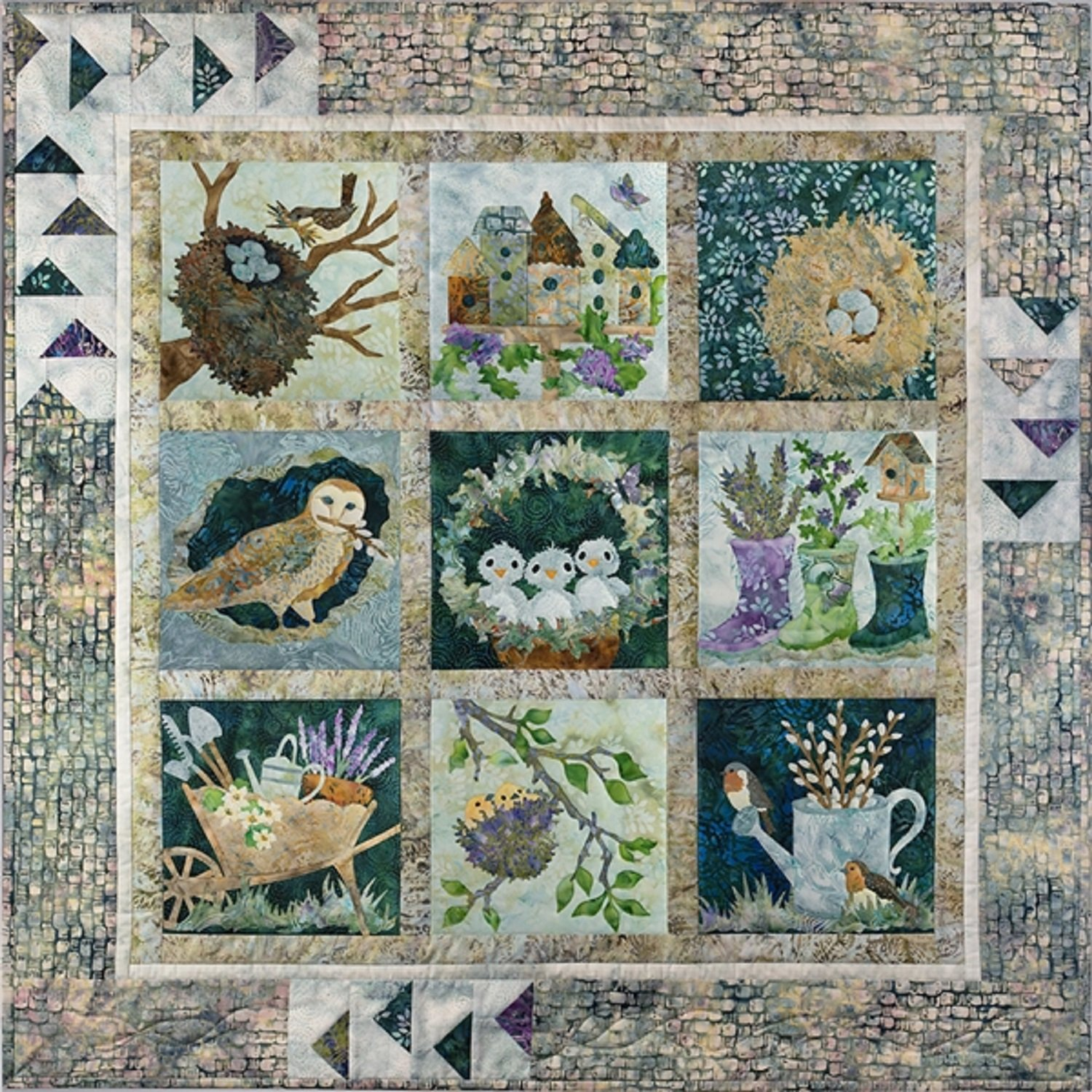 Nesting Quilt Kit by Mckenna Ryan