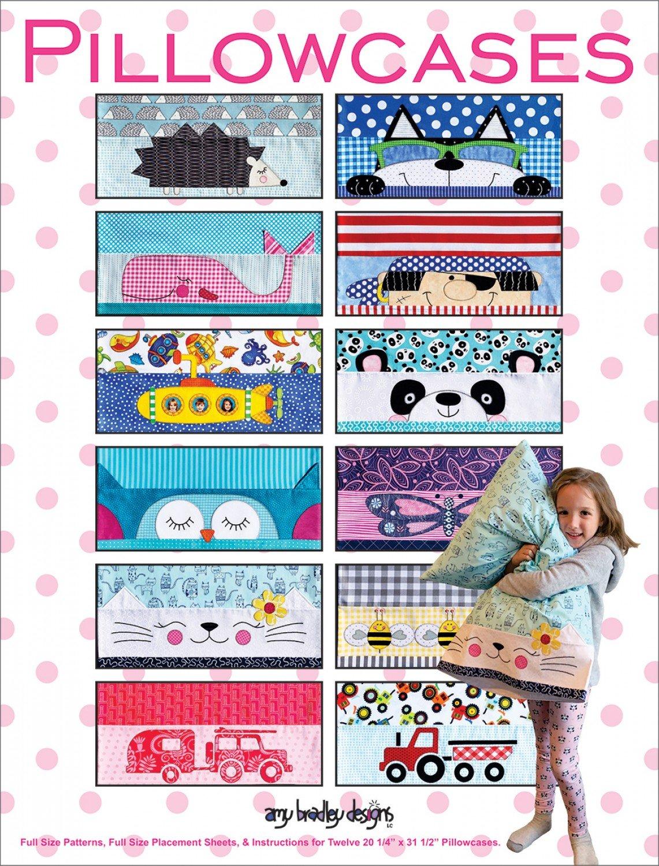 Amy Bradley PillowCases  Pattern Set