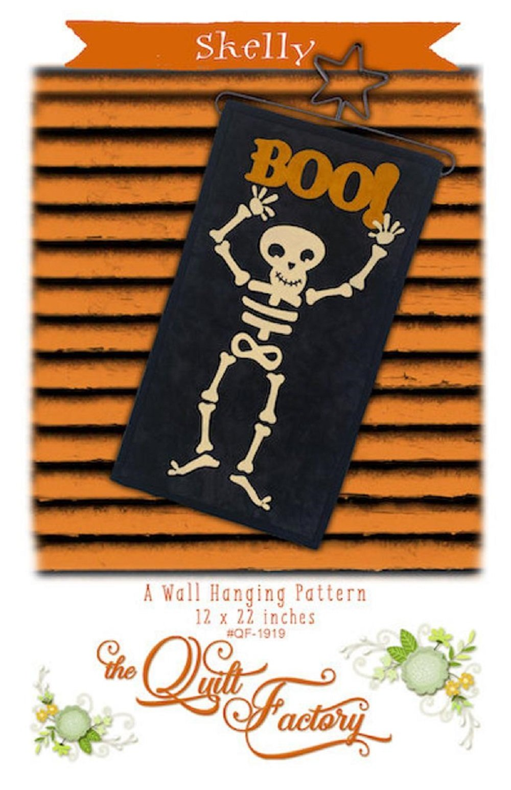Skelly Wall Hanging Pattern by The Quilt Factory
