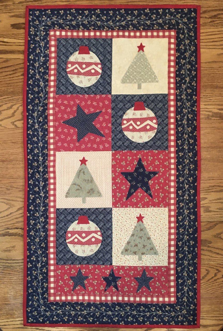 Star Spangled Christmas Runner Kit