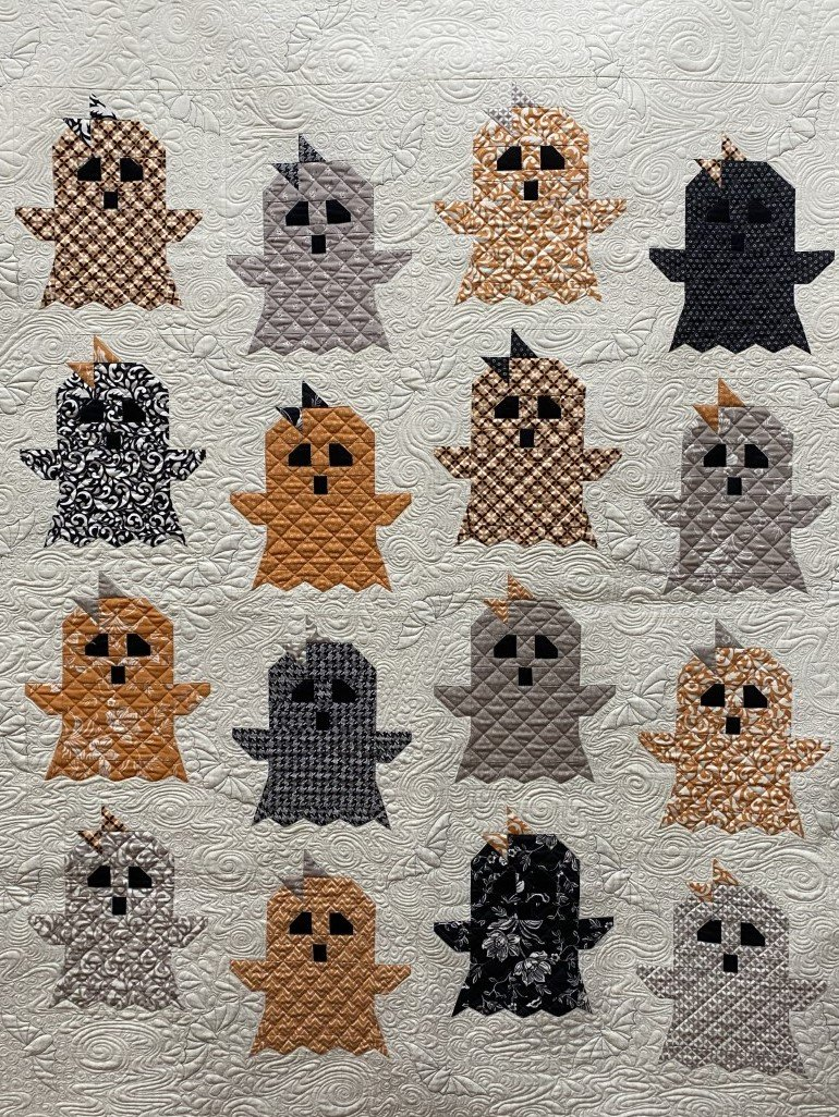 Boo! Quilt Kit with All Hallows Eve Fabric by Moda