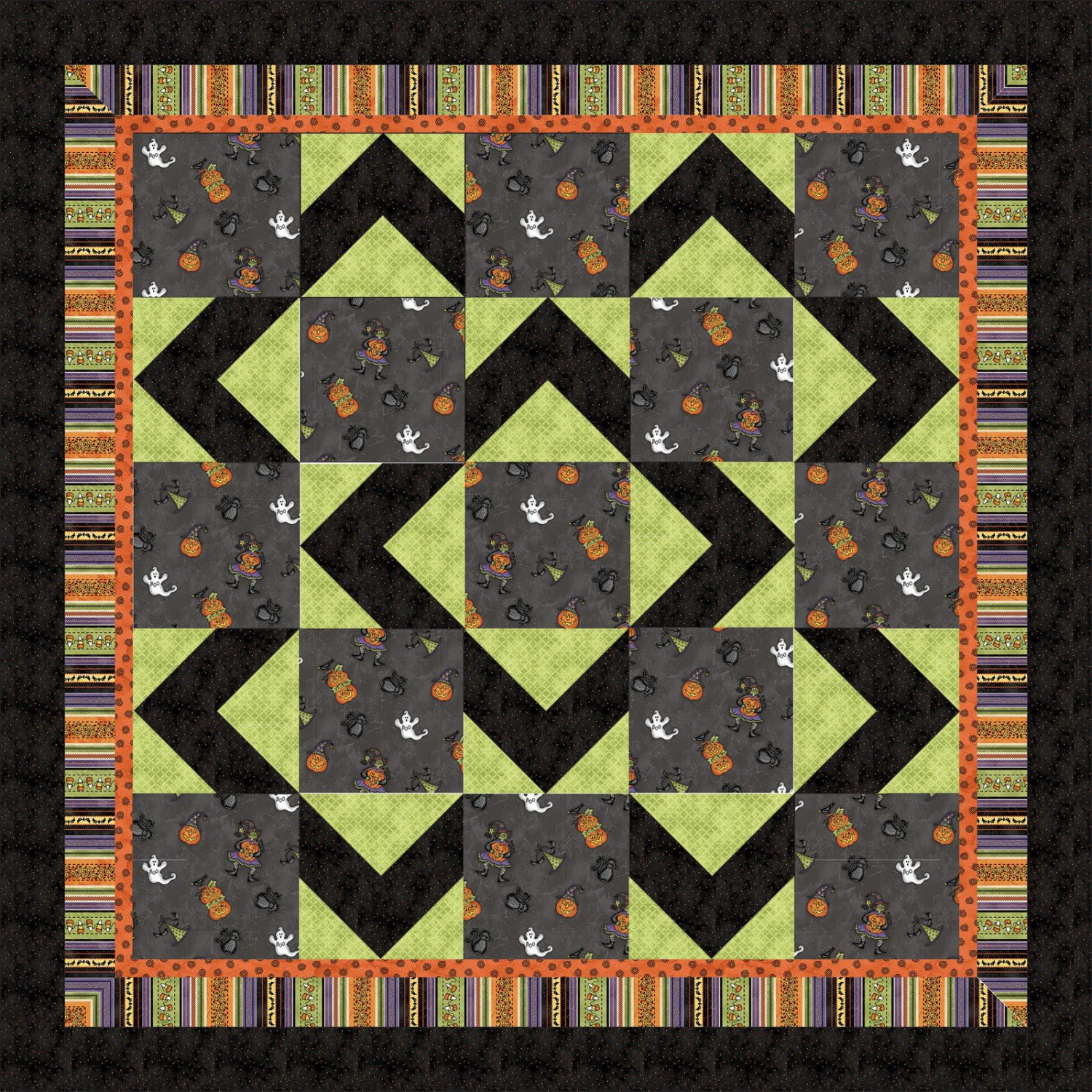 Walk About Quilt Kit From Maywood Studios