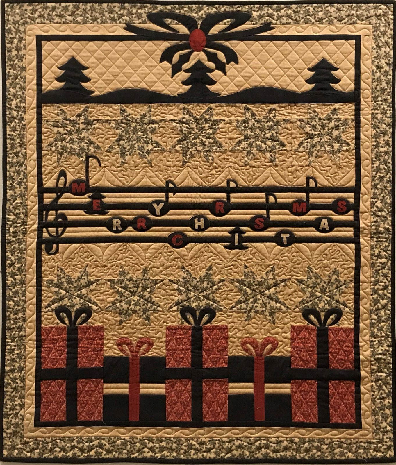 Christmas Song Quilt Kit