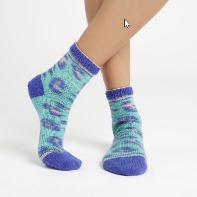 Kinda Magic Sock Feline Good Green - 6459