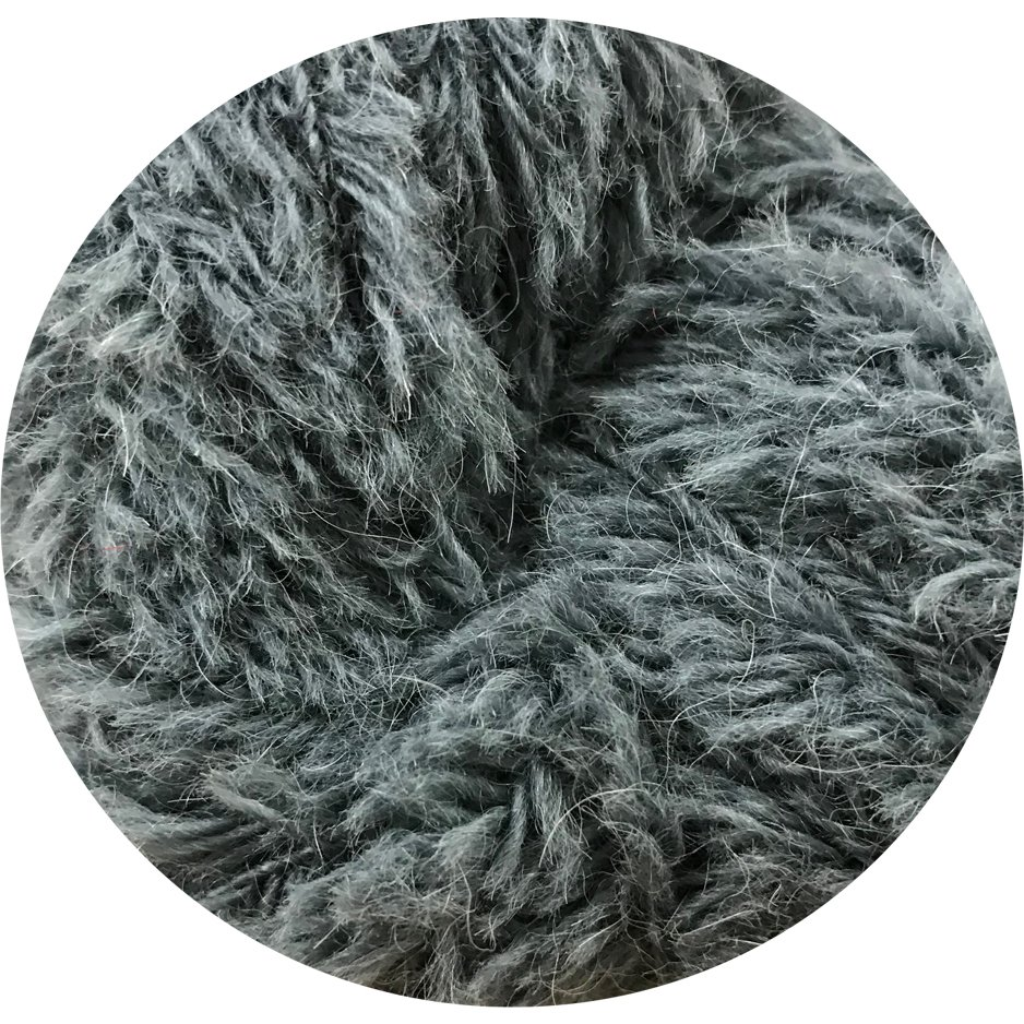 Big Bad Wool Baby Yeti - Charcoal