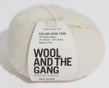 Feeling Good Yarn Ivory White - 044