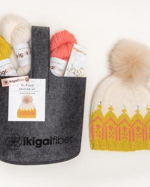 Ms Royalty Hat Kit - French Vanilla/Bumble Bee/Wild Salmon