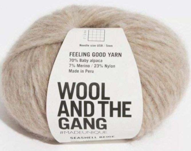 Feeling Good Yarn Seashell Beige - 080