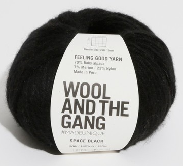 Feeling Good Yarn Space Black - 088