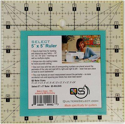 5x5 Non-Slip Ruler