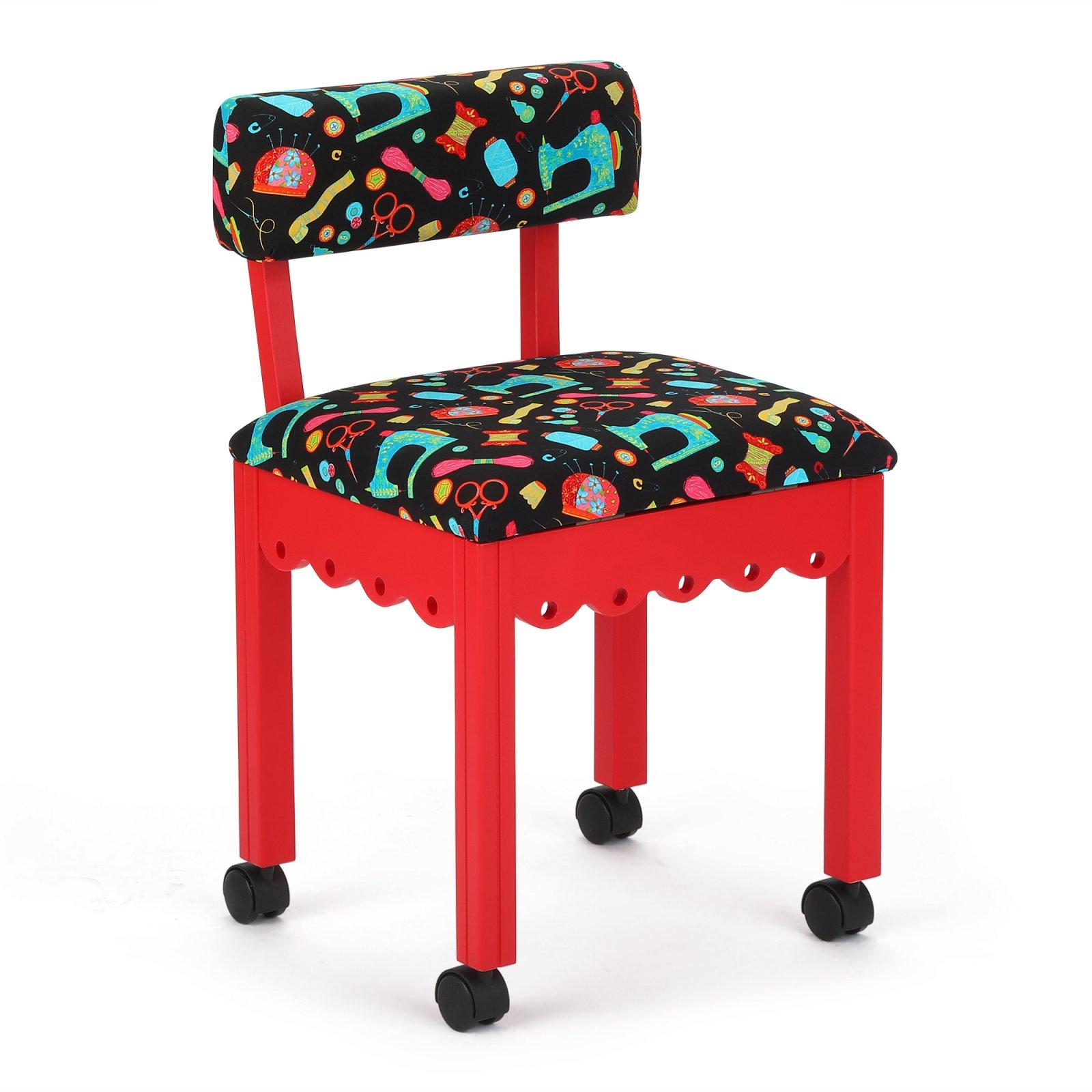 Arrow 7016B Red/Black Chair