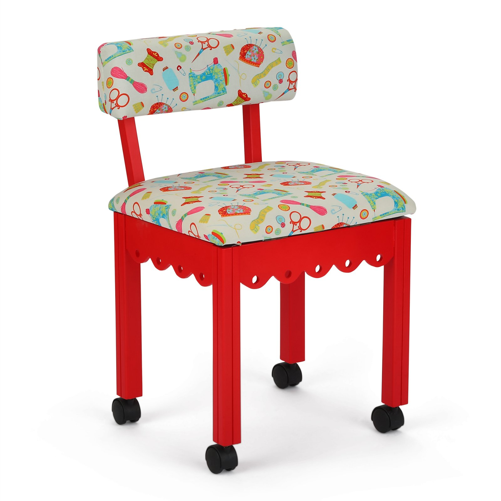 Arrow 7016W Red/White Chair