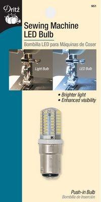 Machine Bulb LED Push In Clear