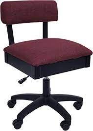 Arrow H8150 Hydraulic Chair - Ruby Red