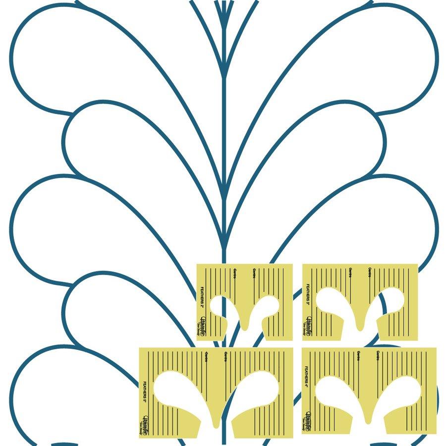 Westalee 4 Piece Feather Set