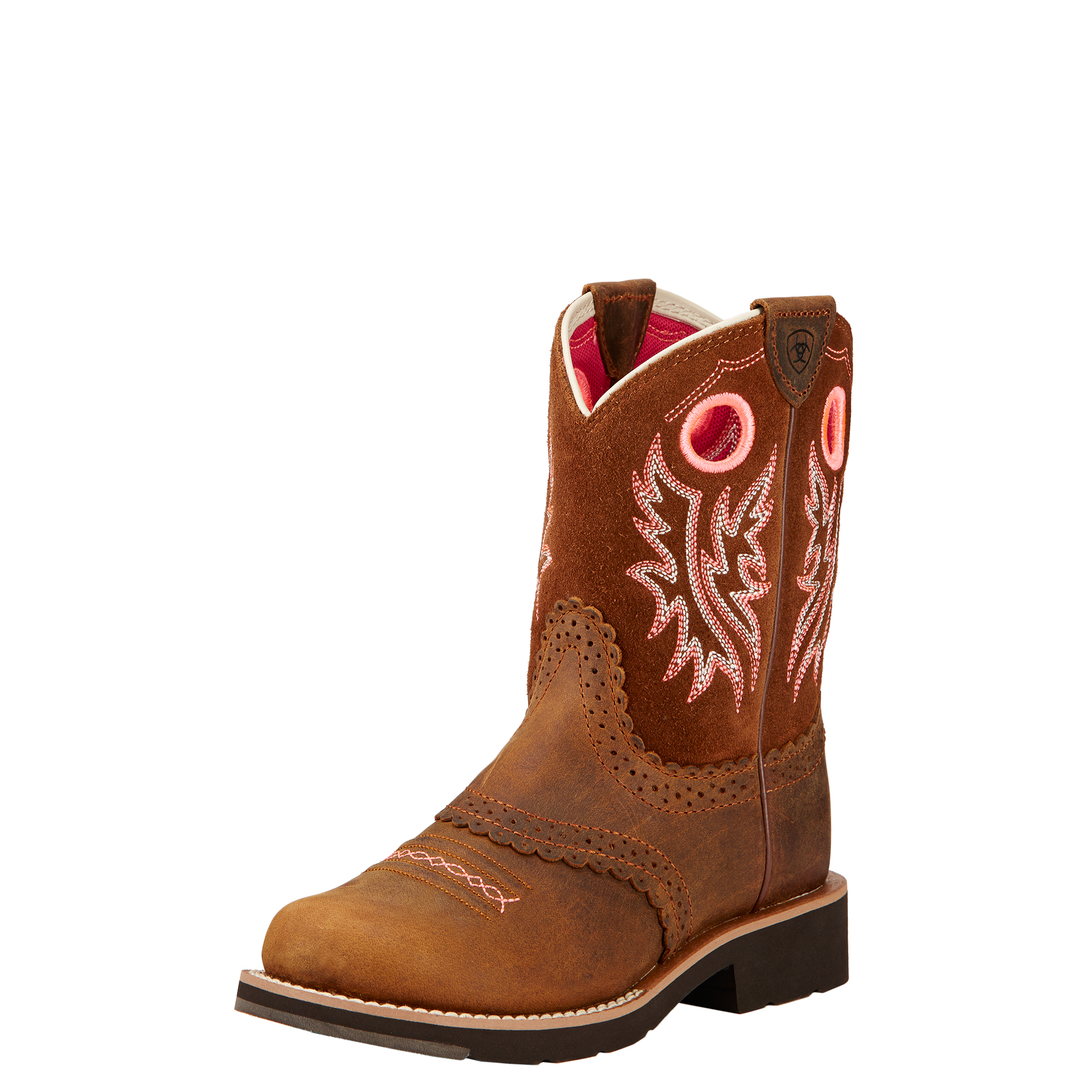 Ariat 10017309 Fatbaby Cowgirl  Powder Brown