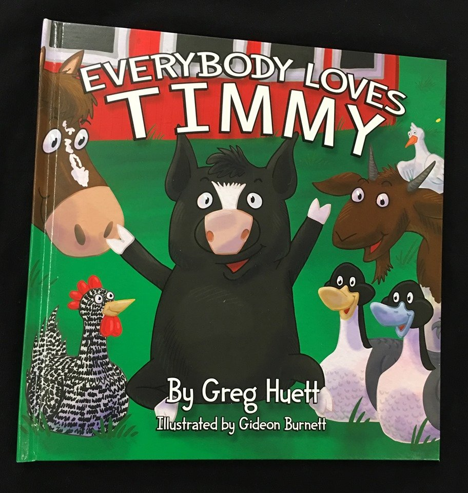 Everybody Loves Timmy Book