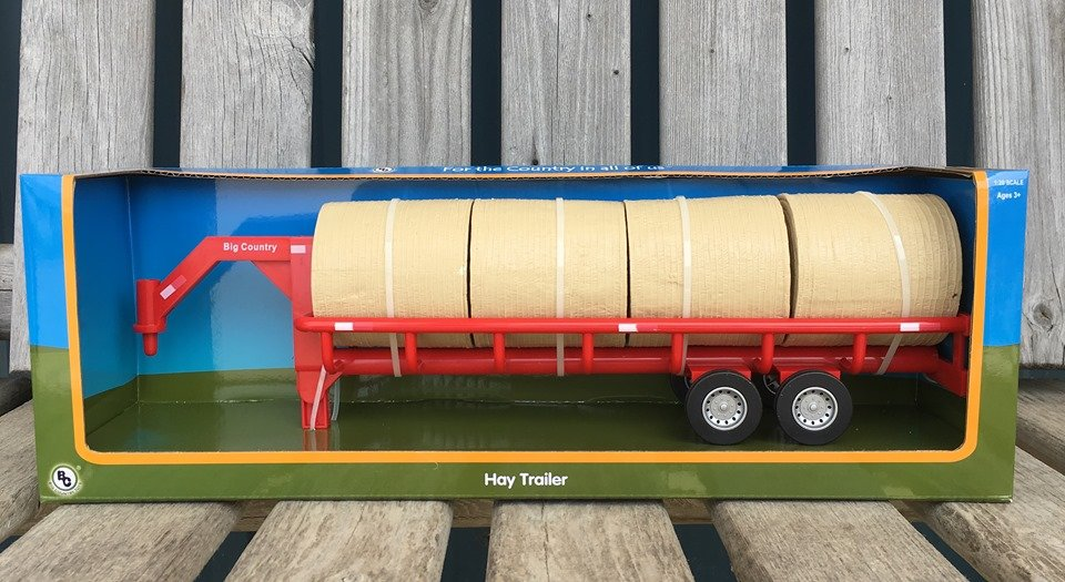 Big Country Toy Hay Bale Trailer