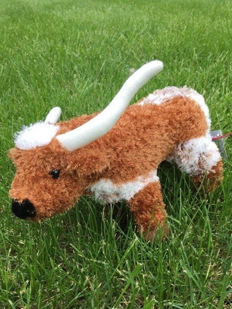 Big Country Toy Longhorn Steer Plush Toy