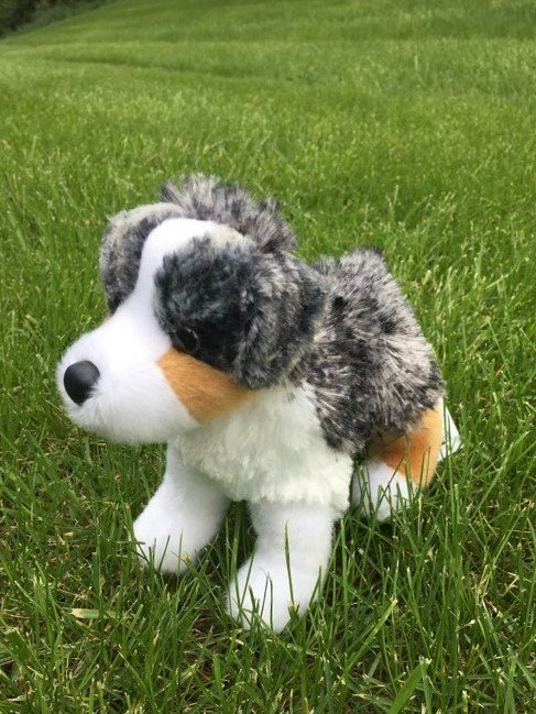 Big Country Toy Australian Shepard Plush Toy