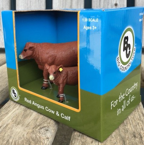 Big Country Red Angus Cow & Calf