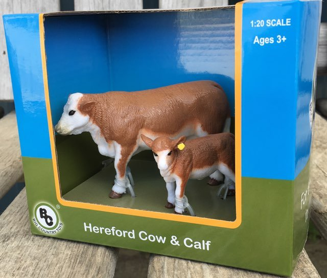 Big Country Hereford Cow & Calf