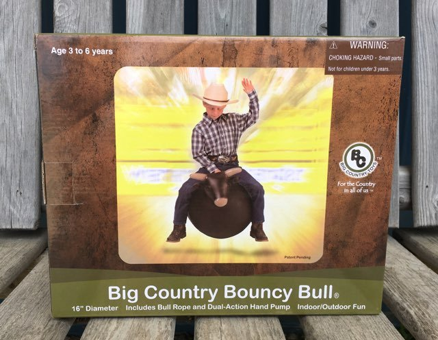 Big Country Bouncy Bull