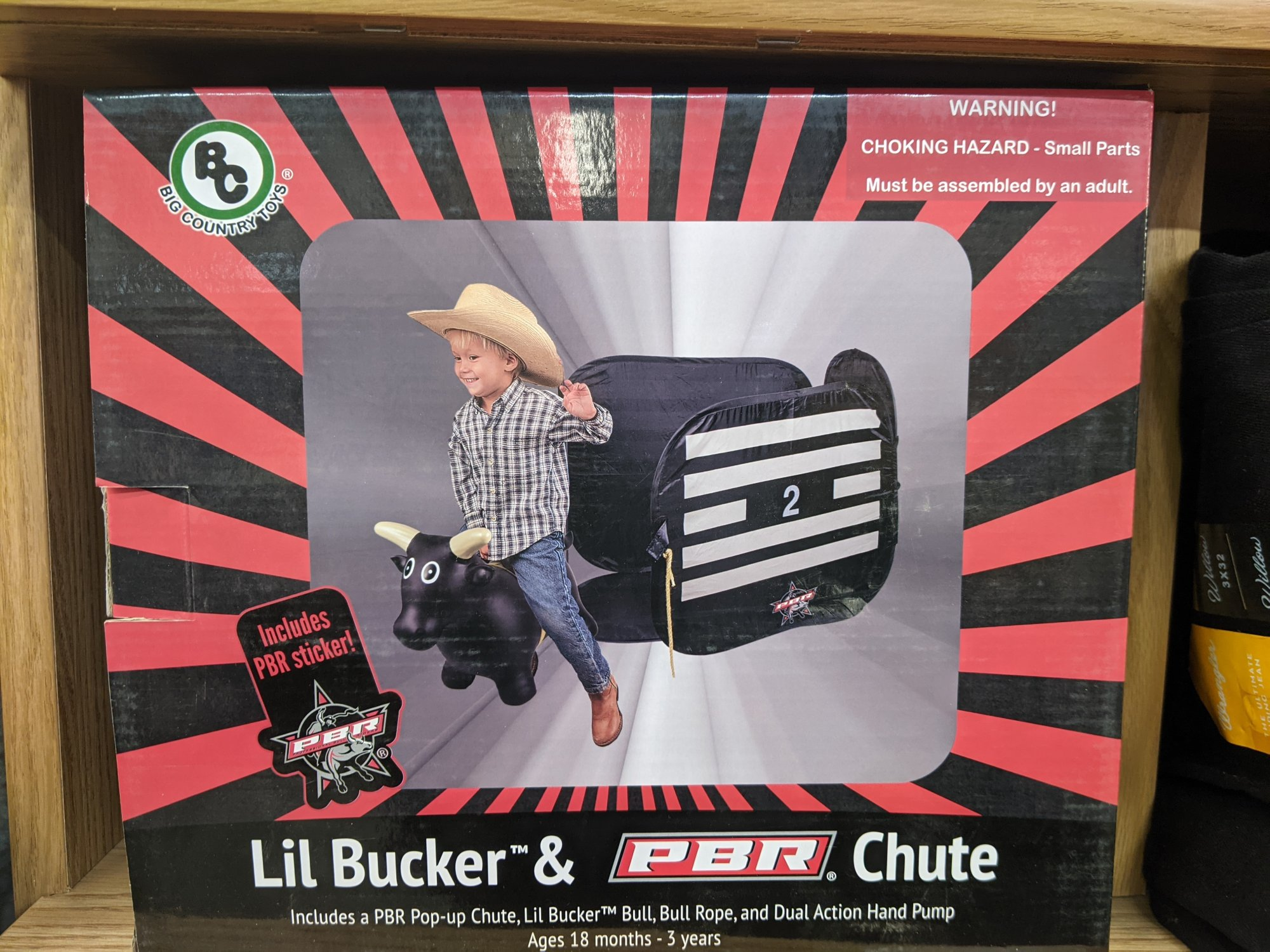 Big Country Toy PBR Lil Bucker & Chute