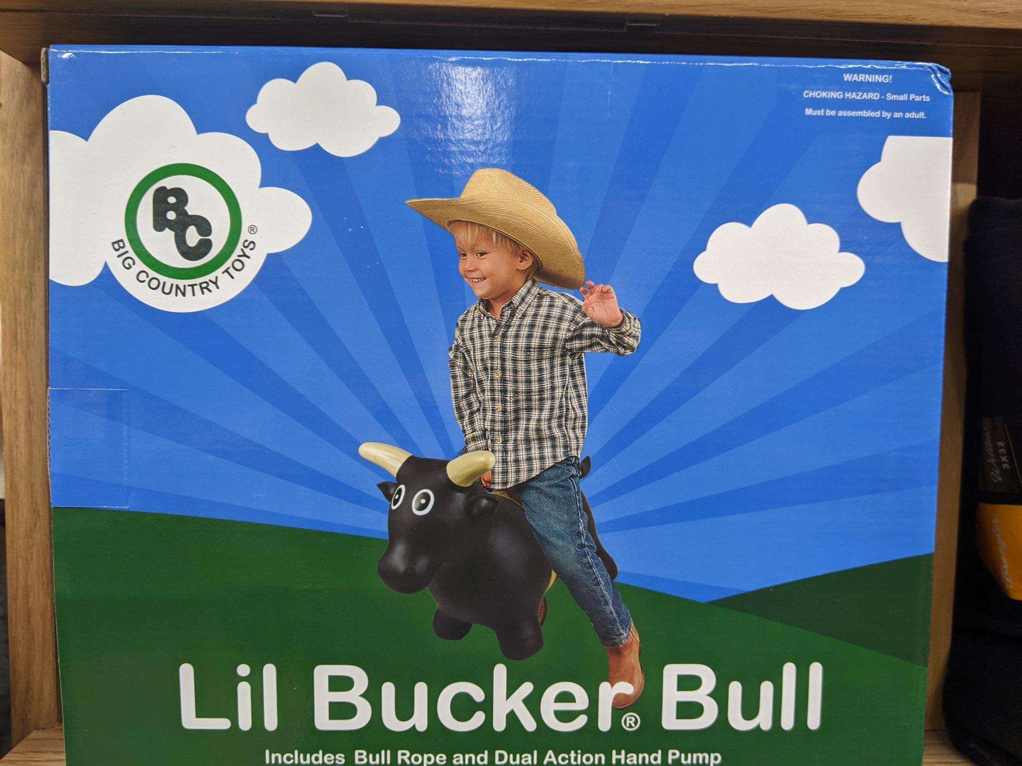 Big Country Toy Lil Bucker Bull