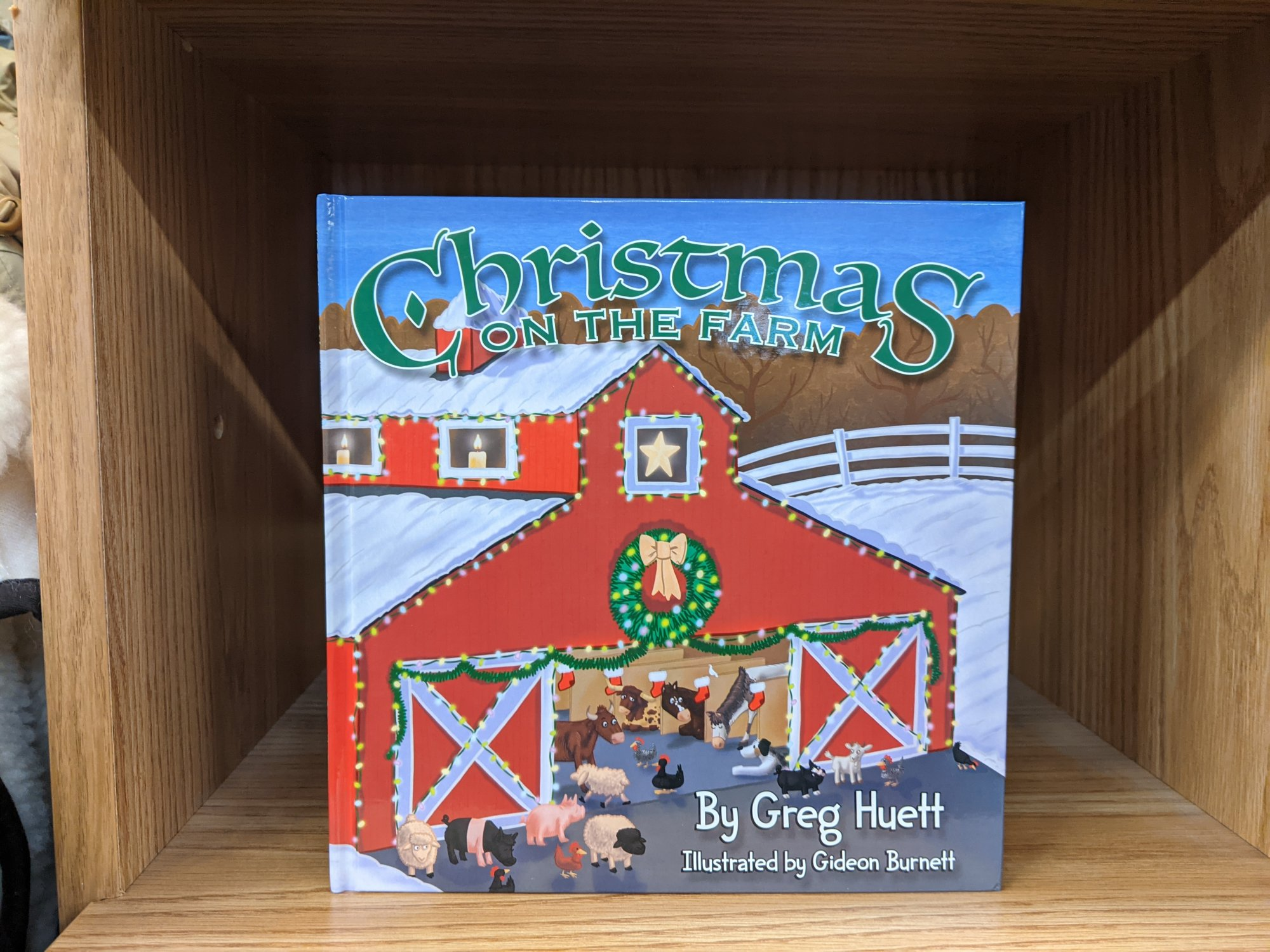 Big Country Toy Christmas On The Farm Book