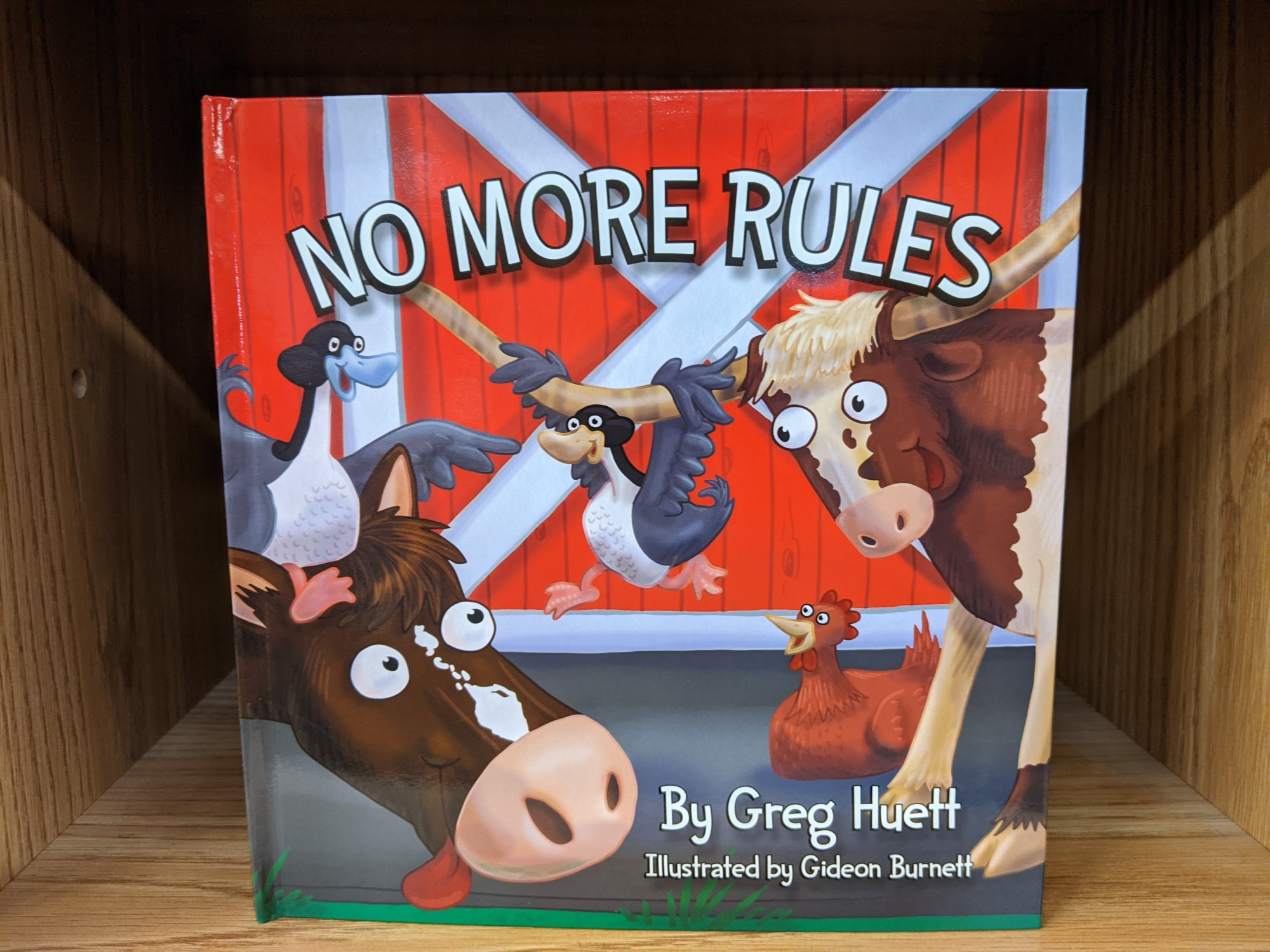 Big Country No More Rules Book