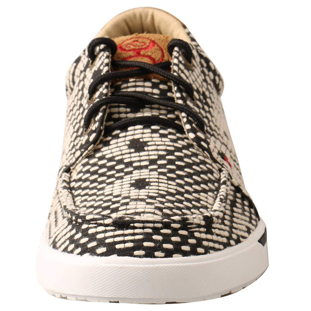 Twisted X WHYC017 Hooey Lopers Black/White 0220