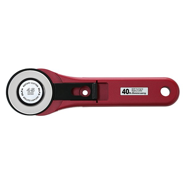 Olfa 45mm Rotary Cutter - Limited Edition Ruby